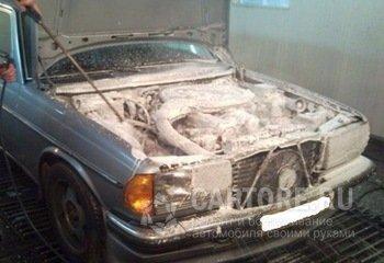 Как помыть двигатель автомобиля самостоятельно или мойка двигателя у себя дома - Автосайт