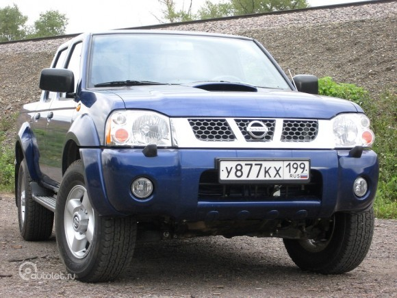 Nissan NP300. - Тест-драйв в Рф: Nissan NP300 Pick Up