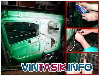 Фото №5 - установка рычажных стеклоподъемников на ВАЗ 2110