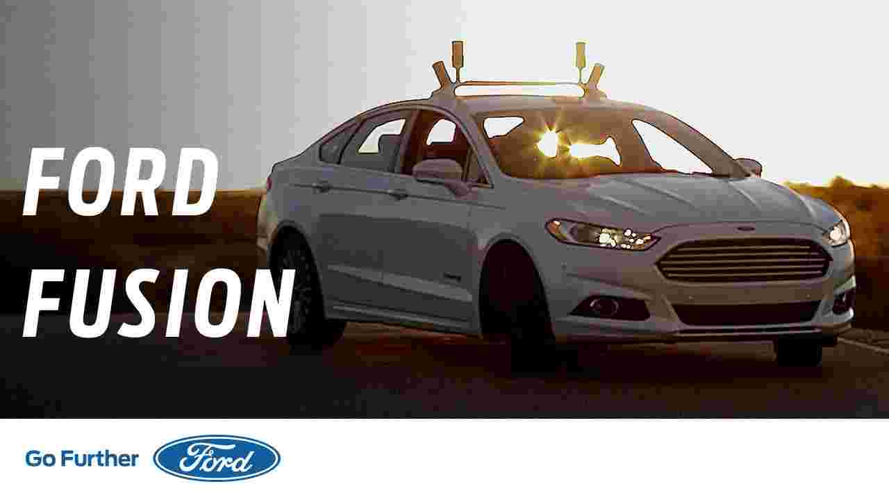 Project Nightonomy: Autonomous Vehicle Testing in the Dark | Ford Fusion | Ford