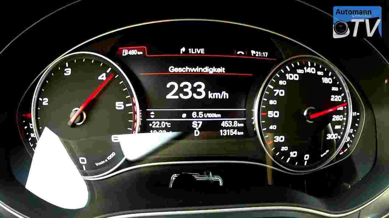 2013 Audi A6 3.0 TDI (204hp) multitronic - 0-230 km/h (1080p FULL HD)