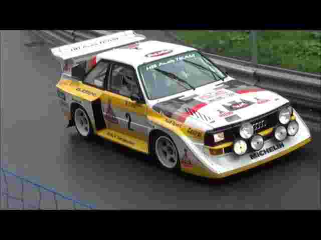 "Audi Quattro S1 PURE SOUND at Hillclimb Arosa 2014 ""ORIGINAL Walter Röhrl"""