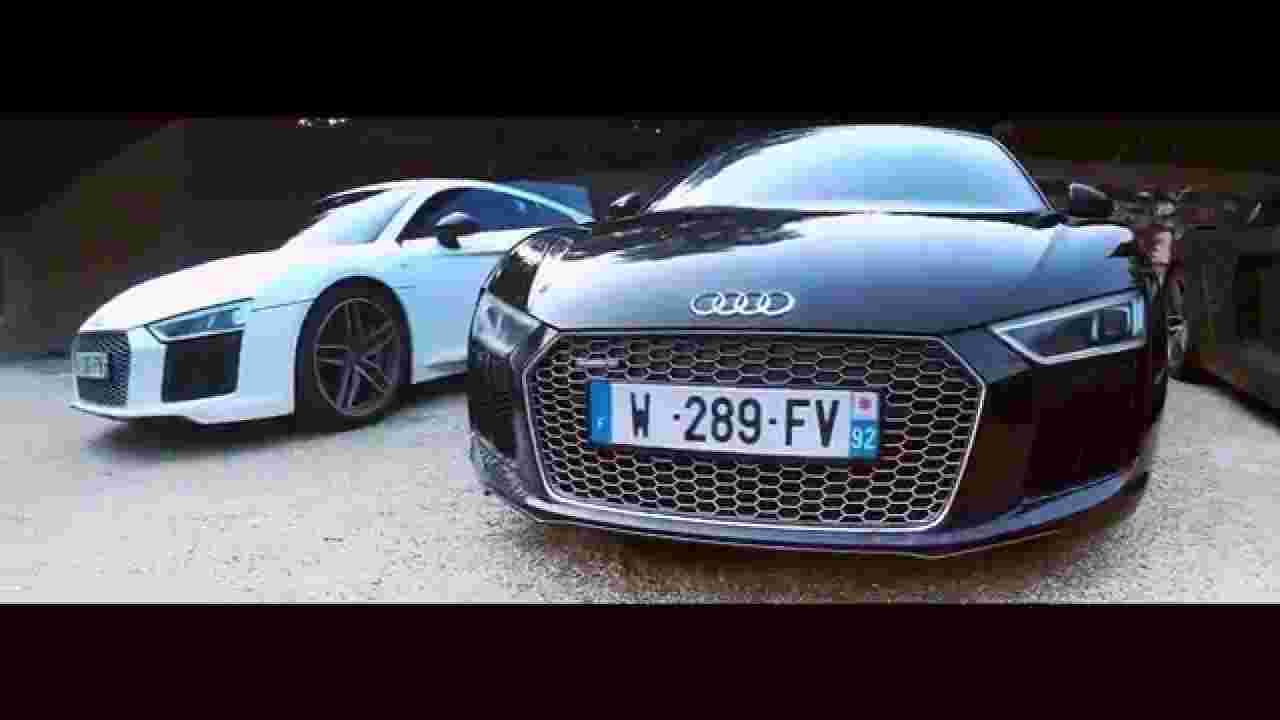 Audi R8 V10 Plus - 610 HP sound, acceleration Road Trip 5 Supercars