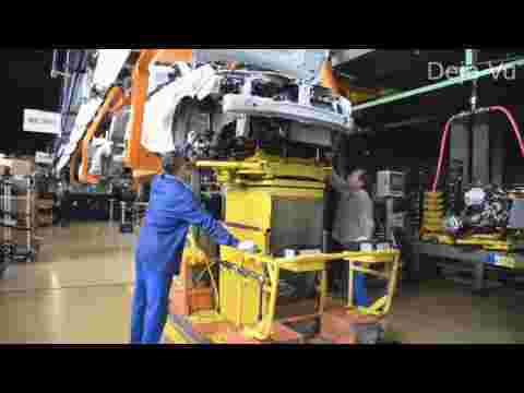 Сборка LADA XRAY на конвейере (LADA XRAY Series Production)