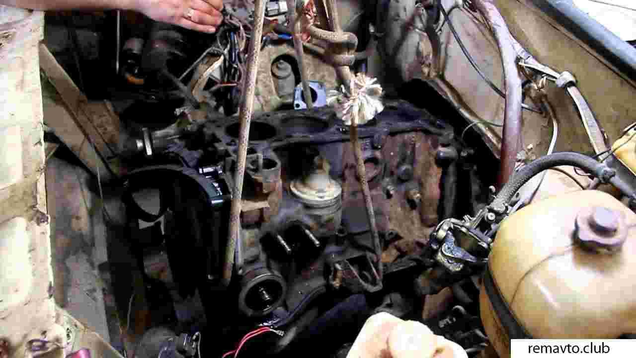 Ремонт двигателя ваз 2105 видео своими руками