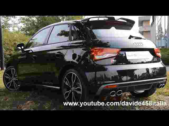 SOUND! 2014 Audi S1 Sportback: start, launch, revs, fly bys and more!