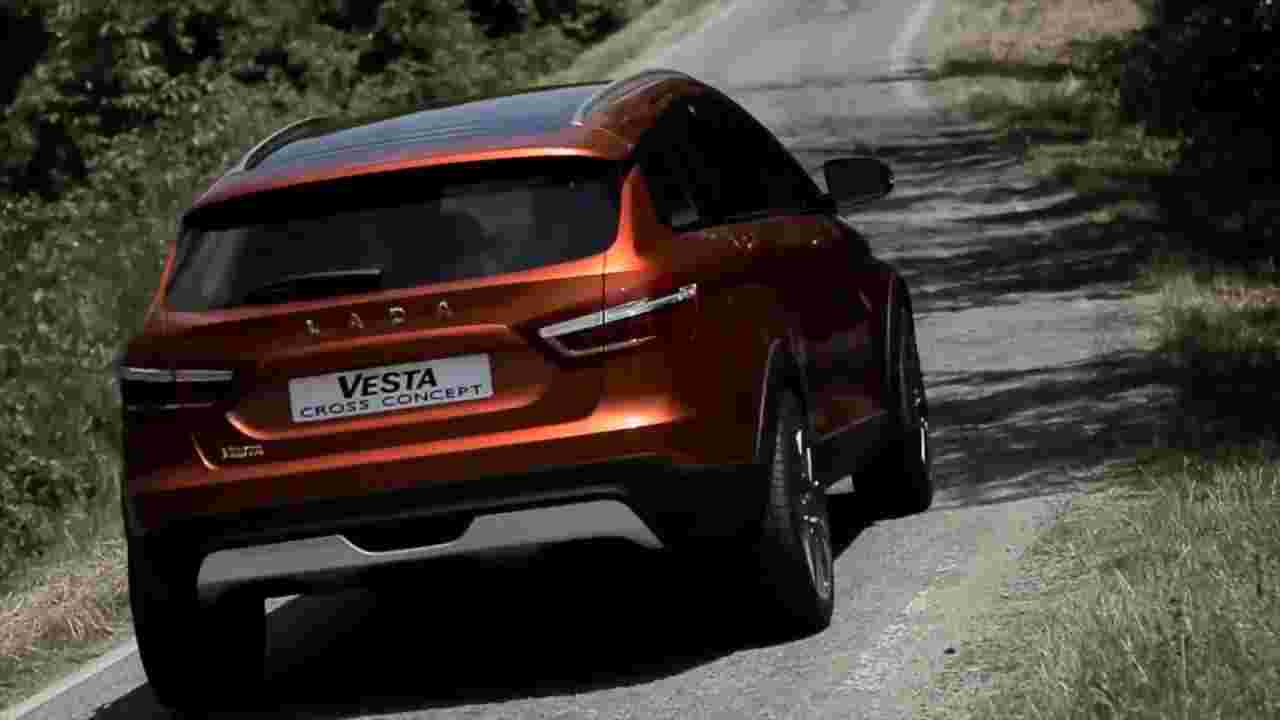 Promotional Video LADA Vesta Cross Concept