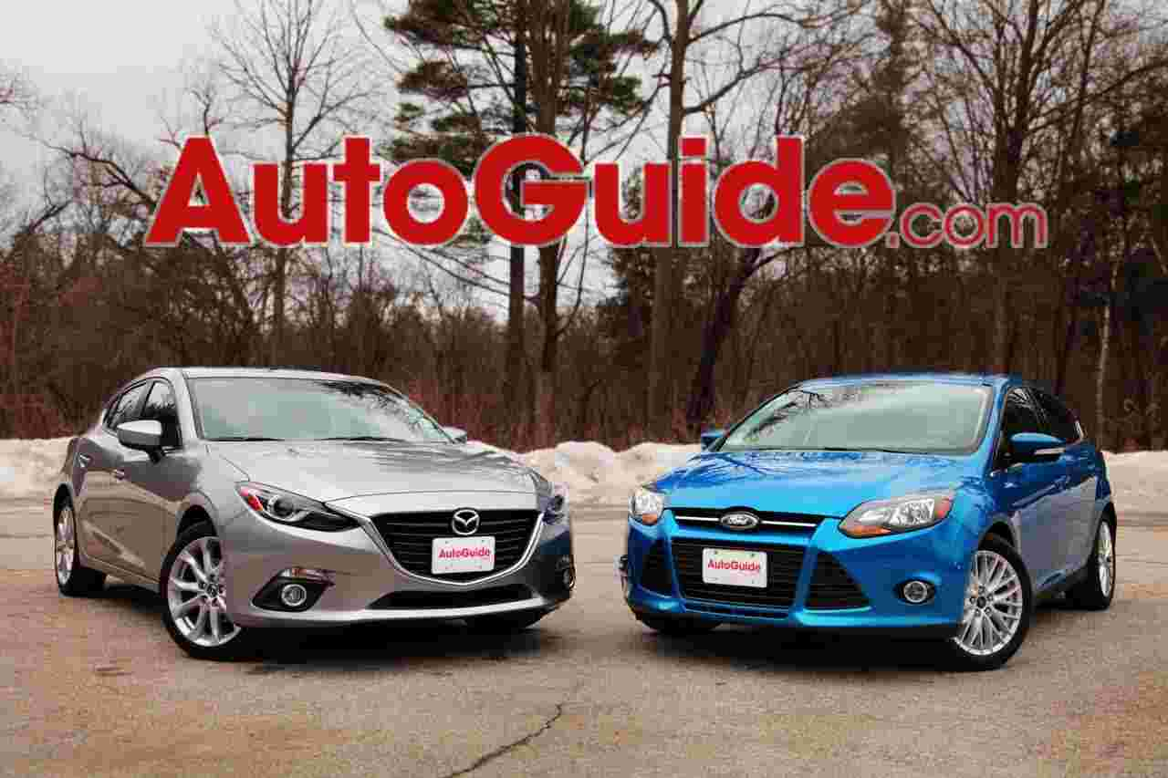 2014 Mazda3 vs 2014 Ford Focus